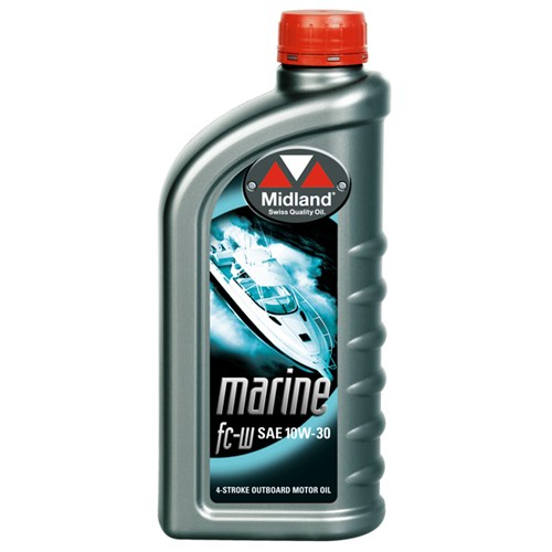 MOTOR OIL FOR BOATS OUTBOARD MARINE FC-W 10W-30, 1 L