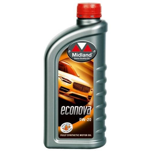 ECONOVA MOTOR OIL 0W-20 1L