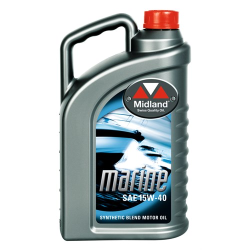 MOTOR OIL BOAT MARINE 15W-40, 4L FOR INBOARD 4-CYCLE