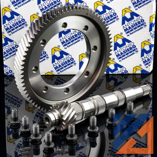 CROWN WHEEL & PINION CADDY TOURAN PETROL 5-SPEED