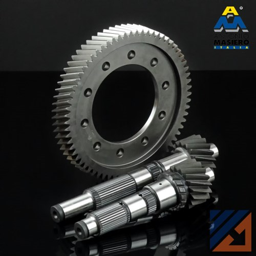 CROWN WHEEL & PINION KIT RENAULT/OPEL PF6 6-SPEED