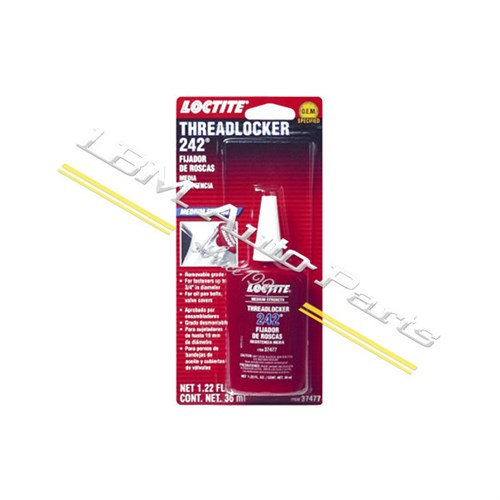 LOCTITE THREADLOCKER 242 BLUE