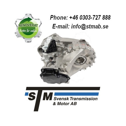 REMANUFACTURED MANUAL GEARBOX FOR RENAULT, OPEL AND NISSAN