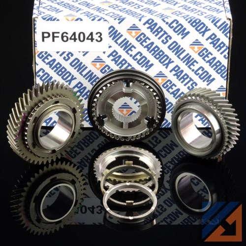 GEAR AND SYNCH KIT 3RD/4TH PF6 PK5