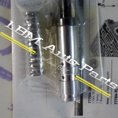 ACTUATOR FEED LIMIT VALVE KIT