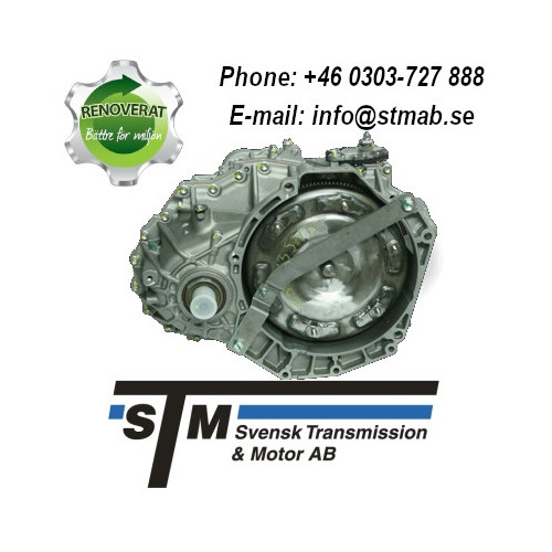 REMANUFACTURED TRANSMISSION WITH TRANSFER CASE ZF 5HP19FLA